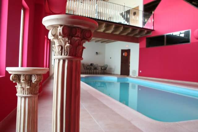 Casa rural atlantida en tordomar burgos for Precio piscina climatizada