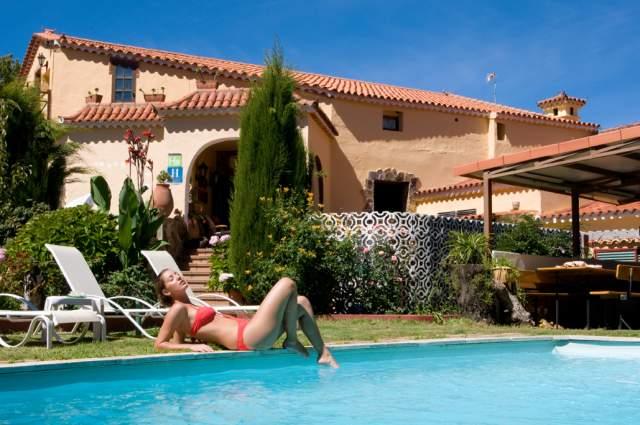 Hotel rural el refugio en vega de san mateo las palmas - Ofertas casas rurales gran canaria ...